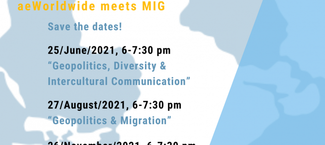 aeWorldwide-seminar series on Geopolitics with MIG
